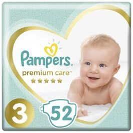 Подгузники Pampers Premium Care Midi 3 (6-10кг) 52шт