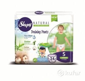 Трусики Sleepy Natural 5 Junior 11-18 кг - 24 шт