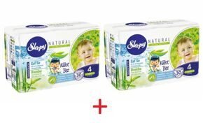 Трусики Sleepy Natural 4 Maxi 7-14 кг - 30*2 = 60 шт