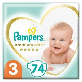 Подгузники Pampers Premium Care Midi 3 (6-10кг) 74шт