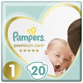 Подгузники Pampers Premium Care Newborn 1 2-5кг 20шт