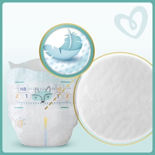 Подгузники Pampers Premium Care Mini 2 (4-8кг) 66шт