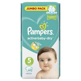 Подгузники Pampers Active Baby-Dry 5 (Junior) 11-16кг 60шт