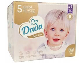Подгузники Dada Extra Care Junior 5 (15-25кг) 84шт (короб)