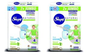 Трусики Sleepy Natural 4 Maxi 7-14 кг - 30*4 = 120 шт