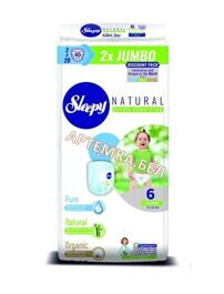 Трусики Sleepy Natural 6 XLarge 15-25 кг -  40 шт